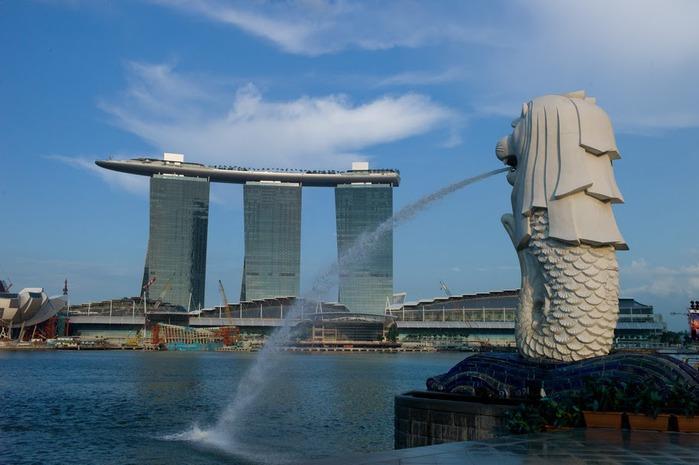 Чудо света самое дорогое казино мира-Marina Bay Sands 75630