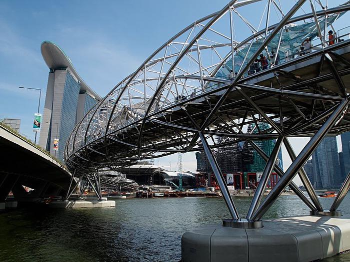 Чудо света самое дорогое казино мира-Marina Bay Sands 41493