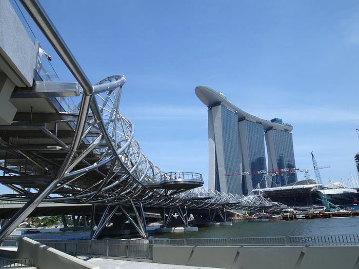 Чудо света самое дорогое казино мира-Marina Bay Sands 12016