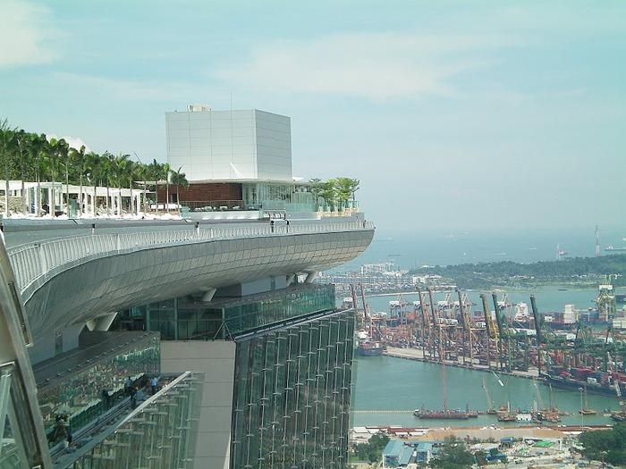 Чудо света самое дорогое казино мира-Marina Bay Sands 45092