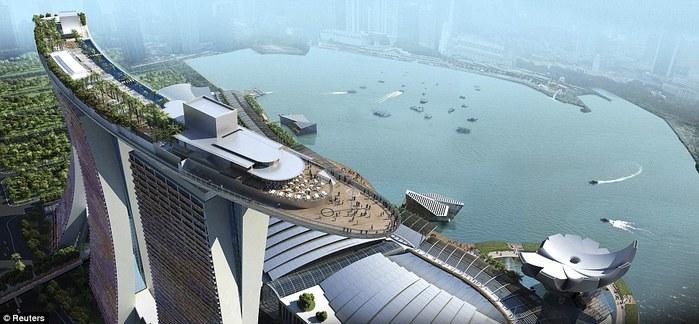 Чудо света самое дорогое казино мира-Marina Bay Sands 70055