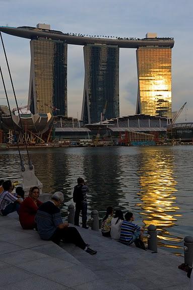 Чудо света самое дорогое казино мира-Marina Bay Sands 37631