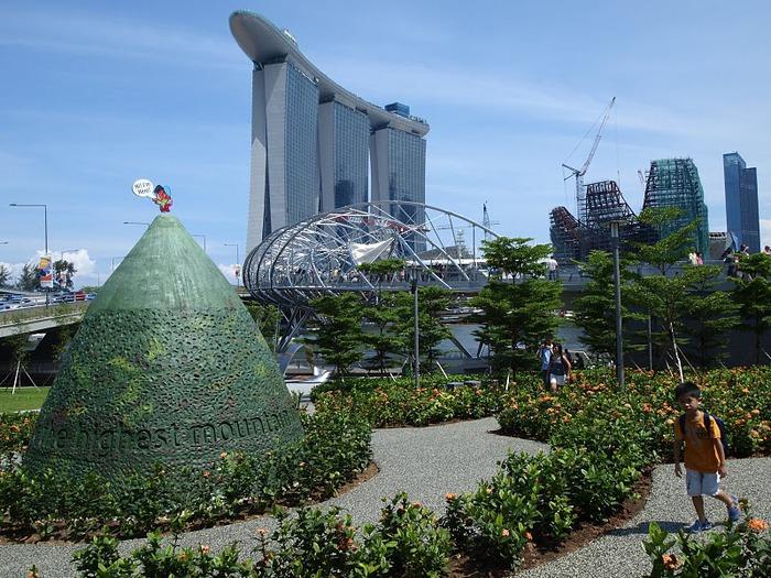 Чудо света самое дорогое казино мира-Marina Bay Sands 94721