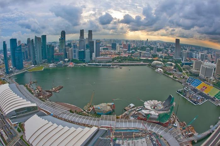 Чудо света самое дорогое казино мира-Marina Bay Sands 70590