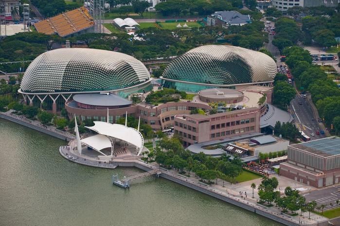 Чудо света самое дорогое казино мира-Marina Bay Sands 57874