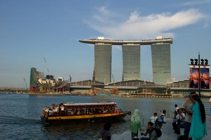 Чудо света самое дорогое казино мира-Marina Bay Sands 95721