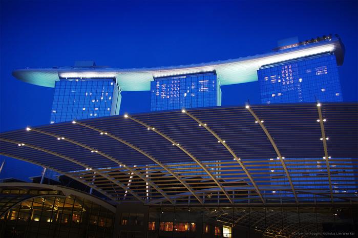 Чудо света самое дорогое казино мира-Marina Bay Sands 34348