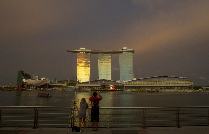 Чудо света самое дорогое казино мира-Marina Bay Sands 21139