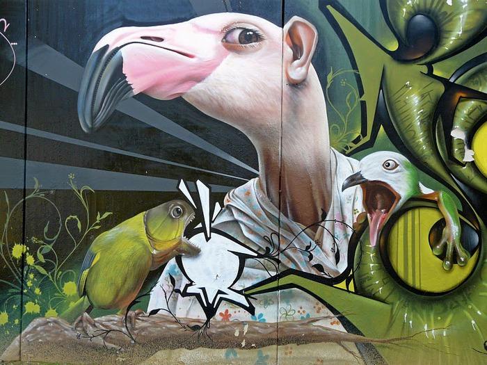 Стрит-арт (англ. Street art — уличное искусство) 95683