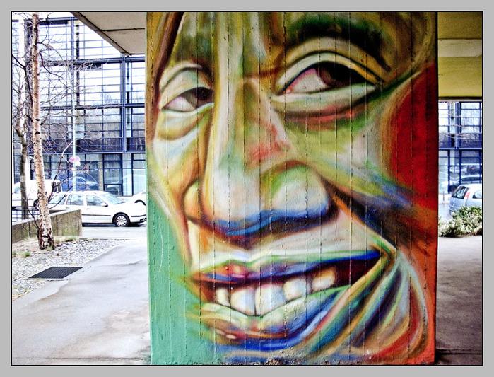 Стрит-арт (англ. Street art — уличное искусство) 76222