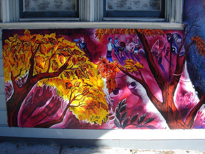 Стрит-арт (англ. Street art — уличное искусство) 13518