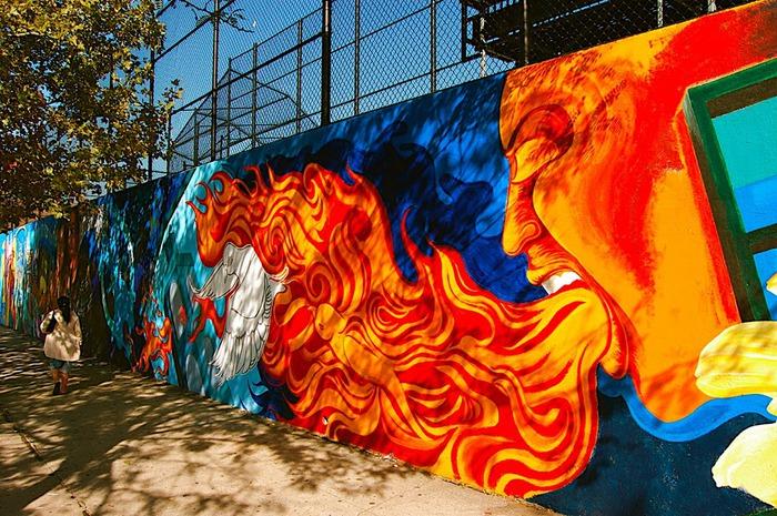 Стрит-арт (англ. Street art — уличное искусство) 46853