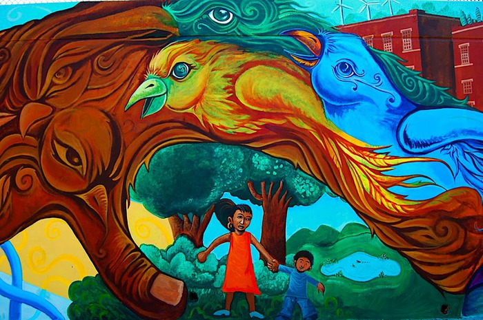 Стрит-арт (англ. Street art — уличное искусство) 50666