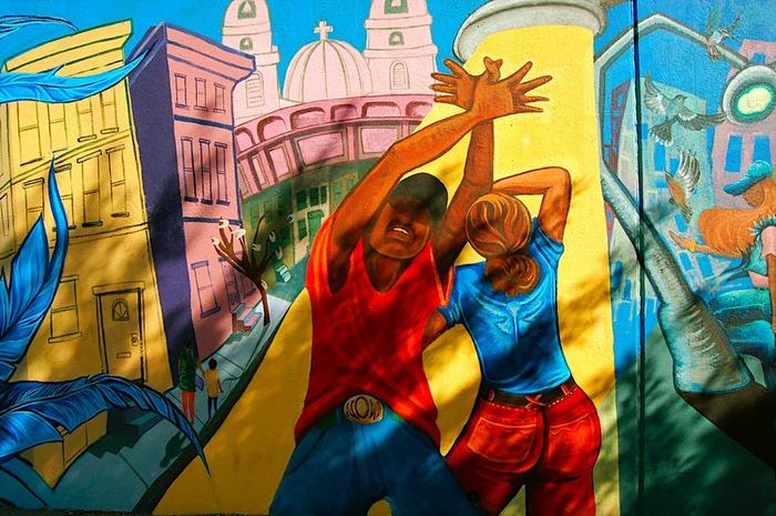 Стрит-арт (англ. Street art — уличное искусство) 87687