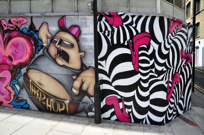 Стрит-арт (англ. Street art — уличное искусство) 97885