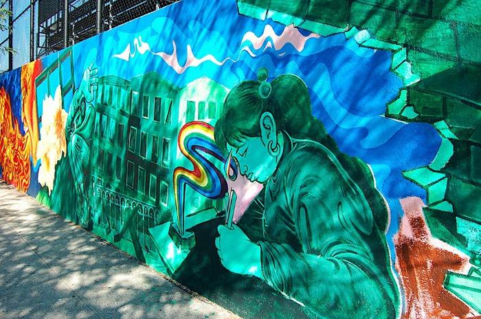 Стрит-арт (англ. Street art — уличное искусство) 46255