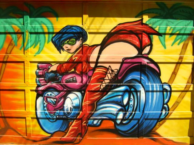 Стрит-арт (англ. Street art — уличное искусство) 28330