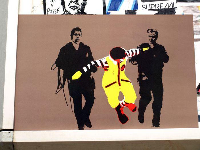 Стрит-арт (англ. Street art — уличное искусство) 80867