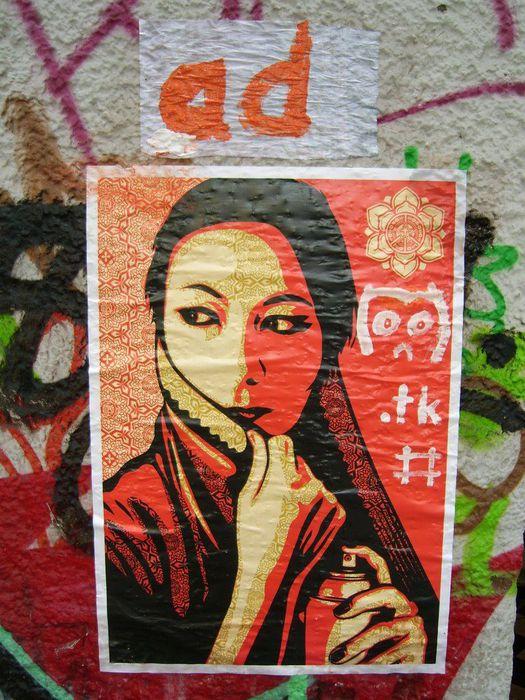 Стрит-арт (англ. Street art — уличное искусство) 99869