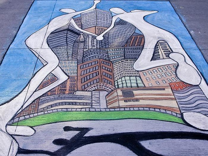 Стрит-арт (англ. Street art — уличное искусство) 70664