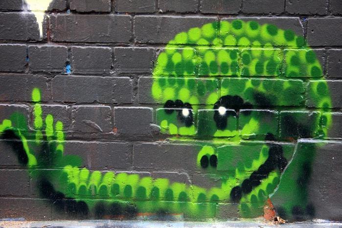 Стрит-арт (англ. Street art — уличное искусство) 67955