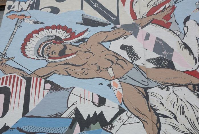 Стрит-арт (англ. Street art — уличное искусство) 79739
