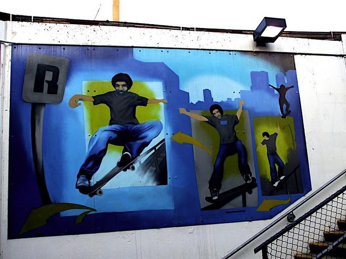 Стрит-арт (англ. Street art — уличное искусство) 91946