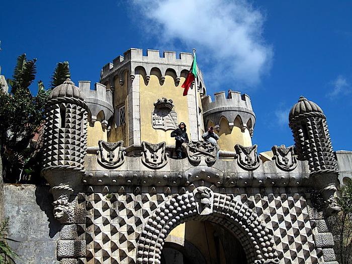 Замок Пена. Синтра, Португалия 28394