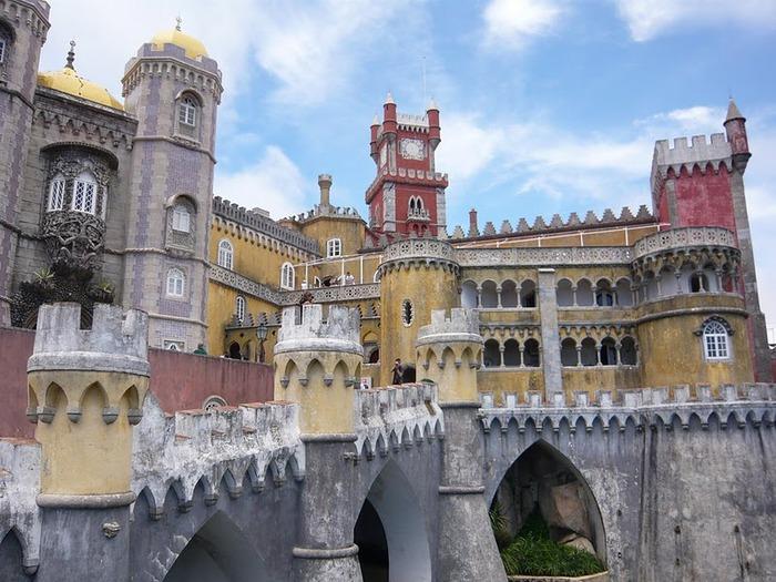 Замок Пена. Синтра, Португалия 14534