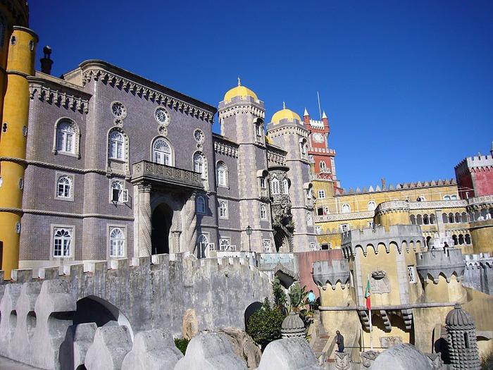Замок Пена. Синтра, Португалия 66025