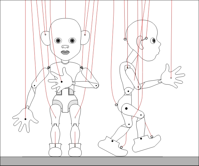 Театральные куклы схемы