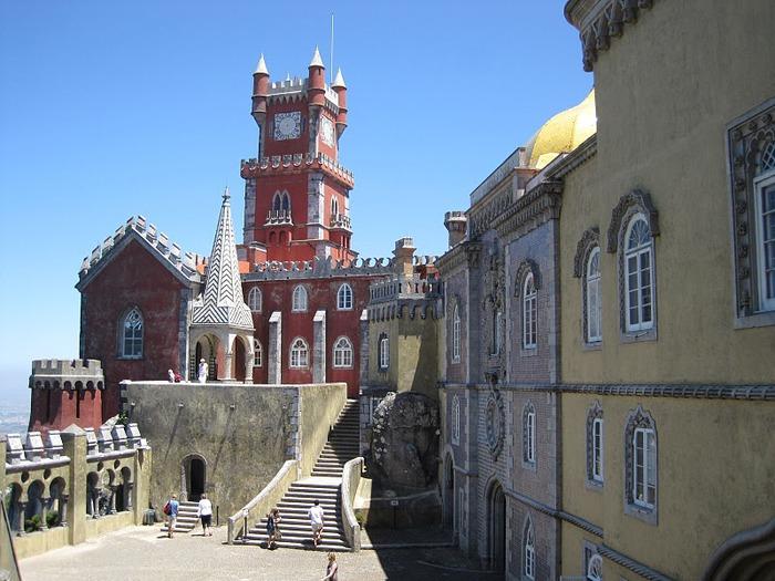 Замок Пена. Синтра, Португалия 31340