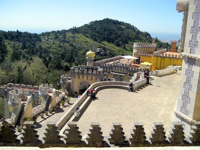 Замок Пена. Синтра, Португалия 10795