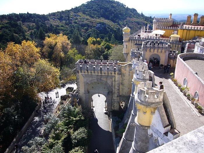 Замок Пена. Синтра, Португалия 21885