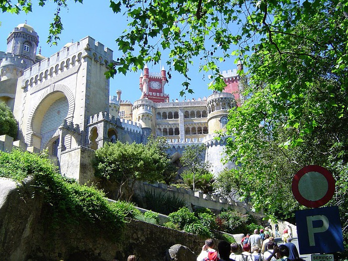 Замок Пена. Синтра, Португалия 91279