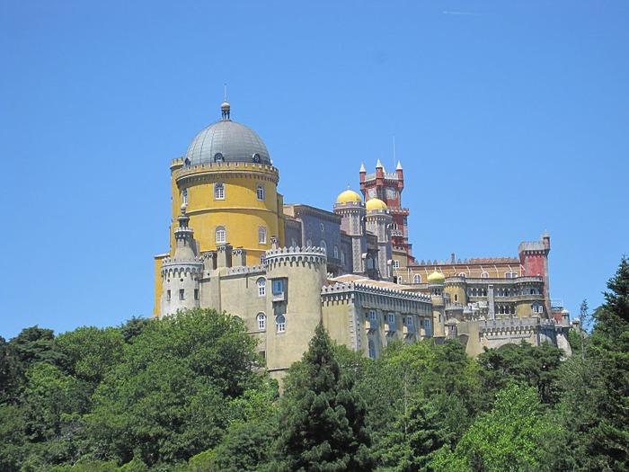 Замок Пена. Синтра, Португалия 39141