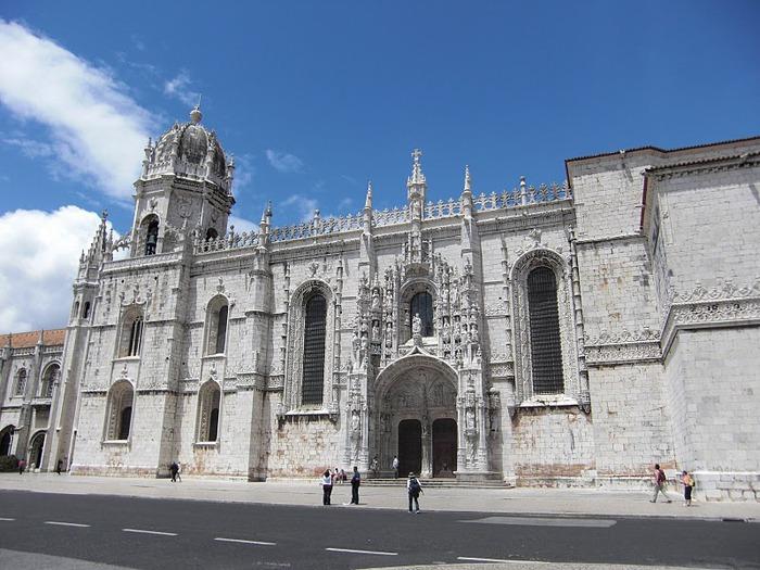 Монастырь Жеронимуш - жемчужина Португалии . 23261