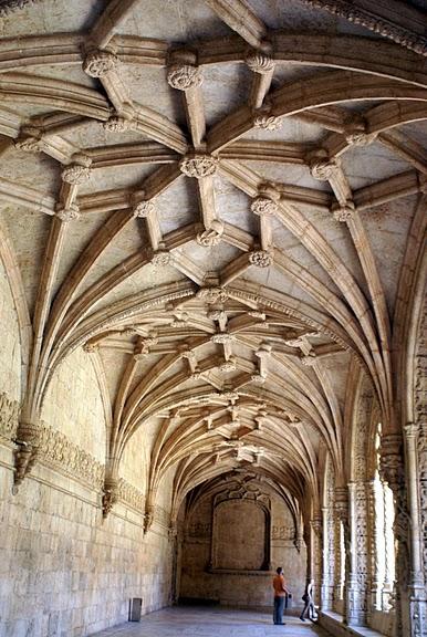 Монастырь Жеронимуш - жемчужина Португалии . 85112