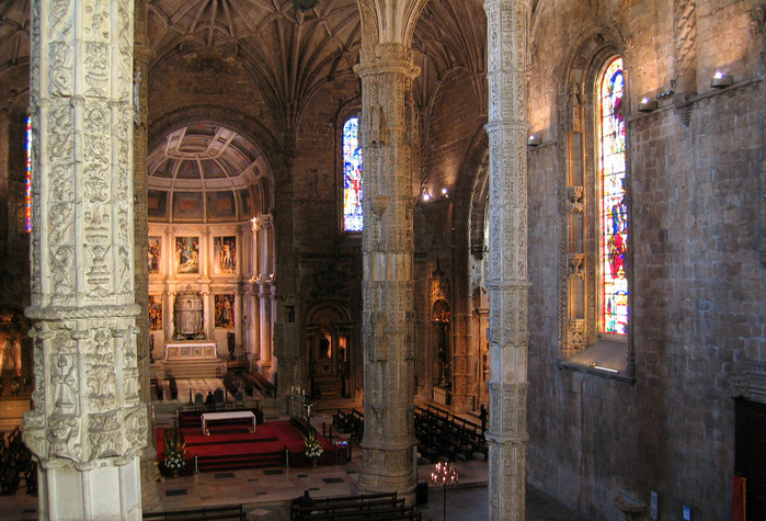 Монастырь Жеронимуш - жемчужина Португалии . 43861