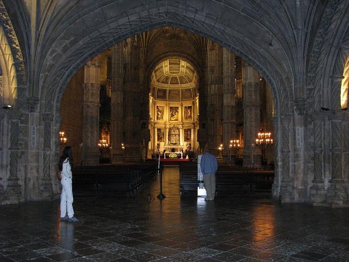 Монастырь Жеронимуш - жемчужина Португалии . 88052