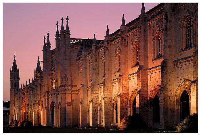 Монастырь Жеронимуш - жемчужина Португалии . 33267