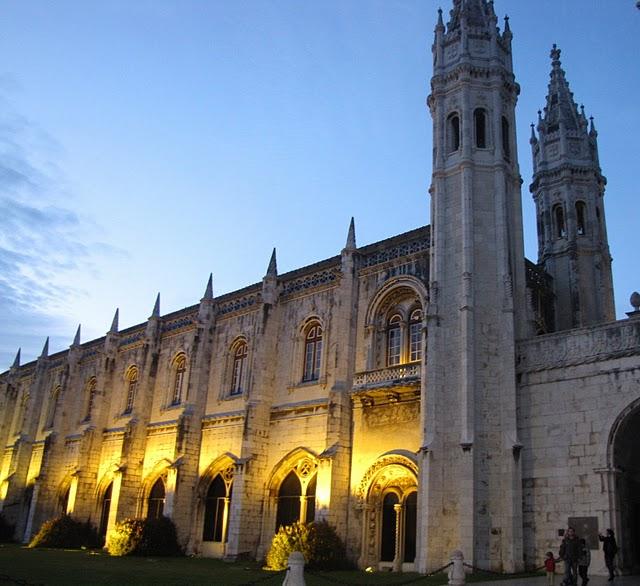 Монастырь Жеронимуш - жемчужина Португалии . 89101