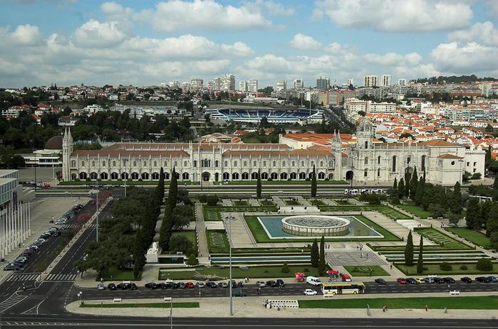 Монастырь Жеронимуш - жемчужина Португалии . 82033