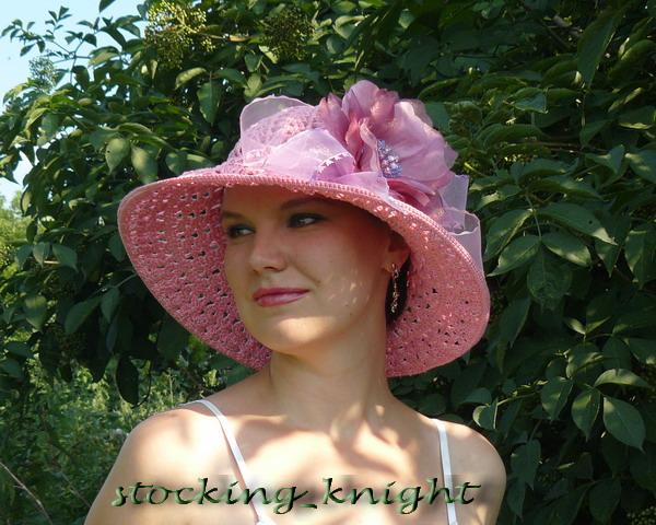 Схему для вязания шляпы вы