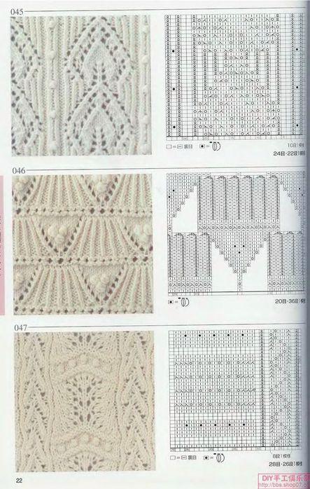 вязание узоры спицами | Записи