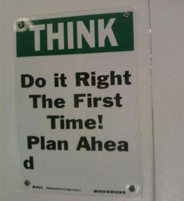 Делайте с первого раза! (тест на чувство юмора)