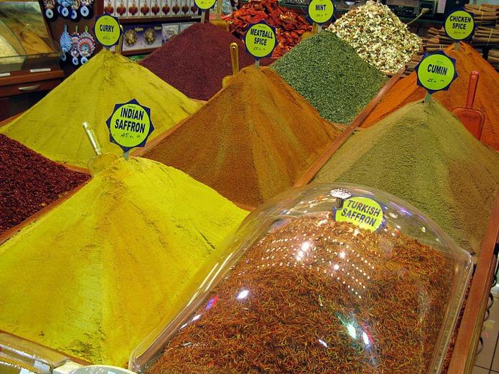 Египетский базар (или Рынок Пряностей) 12396