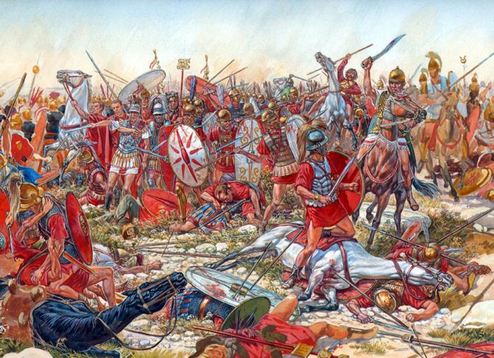 в 216 году до н.э.