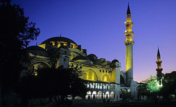 Мечеть Сулеймана - мечеть, которую хранит любовь!. 93524