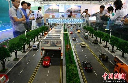 еще раз великий китайский автобус на солнечной энергии макет